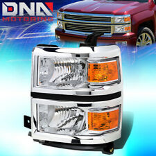FOR 2014-2015 CHEVY SILVERADO 1500 FACTORY STYLE HEADLIGHT LAMP ASSEMBLY LEFT
