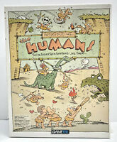 "Introducing: The Humans 1992 GameTek PC & Tandy Boxed Game 5.25"" & 3.5"" Floppies"