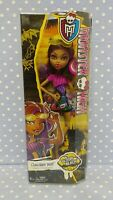 Monster High Doll Gloom Beach. CLAWDEEN WOLF. New in Box. 2014 Mattel.