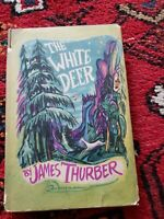The White Deer by James Thurber, 1945 1st Edition later Print color illustrated
