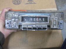 Mopar 60s vintage radio  AM