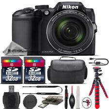 Nikon COOLPIX B500 Digital 40x Optical Zoom Camera Black + 64GB Storage + Case