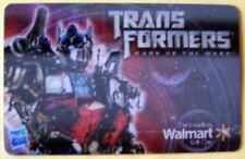 Walmart TRANSFORMERS DARK SIDE OF THE MOON lenticular gift card