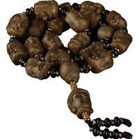 Indonesia Tarakan Agarwood Mala Meditation Buddhism 18 arhat Prayer beads #1246