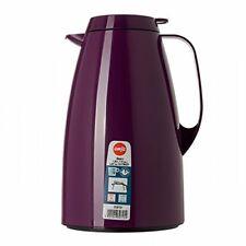 Emsa 508721 Basic Quick-Tip vacuum flask, 1.5 litres, blackberry