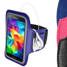 Fascia da braccio blu per cellulari e palmari Samsung