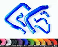 Blue Coolant Radiator Silicone Hose Kit For Ford Mustang GT LX Cobra 5.0 86-93