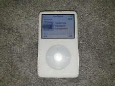 Apple iPod Classic 5th Generation White (60GB) Used Working