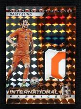 2016-17 Panini Spectra International Fabrics Orange 4/10 Daley Blind Patch