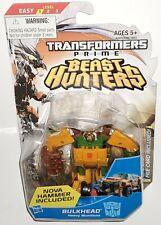 Transformers Prime BULKHEAD Commander Class Cyberverse Beast Hunters #003