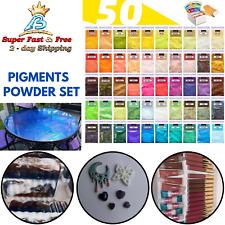 50 Powder Pigment Epoxy Resin Dye For Diy Slime Candle Bath Bomb Soap Art Craft