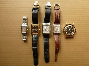 A LOT OF ROTARY GENTS & LADIES REVELATION REVERSIBLE WATCHES SPARES OR REPAIRES