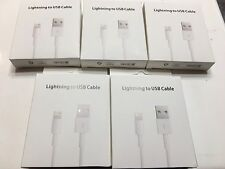 10 OEM 3ft! Genuine Apple Lightning Charger Cable iPhone 5s 6 6s Plus 7 USB