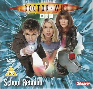 DOCTOR WHO School Reunion ( THE SUN Newspaper DVD ) BBC