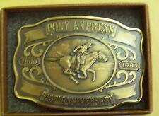 HISTORIC PROVIDENCE MINT 125 THE ANNIVERSAY OF PONY EXPRESS 1860-1985 MINT