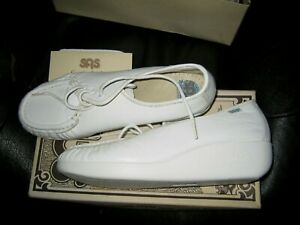 SAS White Comfort Shoes for Women for