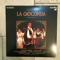Ponchielli _ La Gioconda _ LaserDisc _ 1986 Pioneer USA _ near mint _ RARE