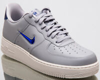 88450790f2fb85 Nike Air Force 1  07 LV8 Leather Jewel Men New Grey Lifestyle Shoes AJ9507-
