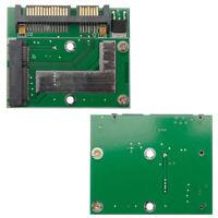 Mini Pcie mSATA SSD to 2.5'' SATA 6.0 GPS Board Adapter Converter Card Module
