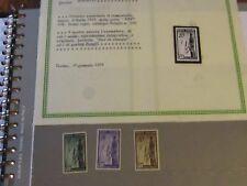 ITALIA REPUBBLICA 1949 E.R.P. MNH SERIE COMPLETA  CERTIFICATO GIULIO BOLAFFI