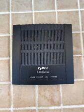 ZyXEL Ethernet Router P-600R-D1 Black Modem DSL Pre-owned Communication