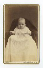 19th Century Children - 1800s Carte-de-visite Photo - Cook of Portsmouth, N.H.