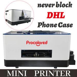 Procolored Mini Flatbed Inkjet Printer for Phone Case Never Block Gift UK