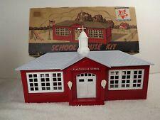 Plasticville School House Kit SC-4 with Original Box