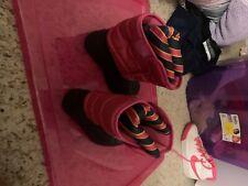 Ralph Lauren Polo Girls Pink Waterproof Snow Duck Boots Size 9 Toddler