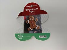 Nordic Ware Gingerbread  Man Loaf Tin 6 Cup 87748 Platinum Collection