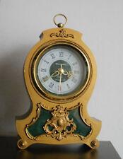 VINTAGE JANTAR YANTAR QUARTZ MANTEL DESK CLOCK SOVIET USSR