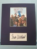 "Christopher Guest - ""Best in Show""  signed by Fred Willard as Buck Laughlin"