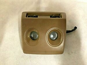 1984-1989 Nissan 300ZX Overhead Dome Map Light Brown OEM