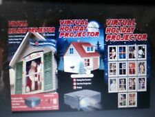 Christmas Virtual Projector include 14 movies with sound (Wow your neighbors!)