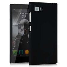 For Lenovo Vibe Z2 Black Snap On Rubberize Matte Hard case back cover