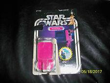 Vintage Star wars 20 back Power Droid original cardback and bubble