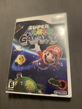 Super Mario Galaxy Nintendo Wii Disc Very Good  Complete