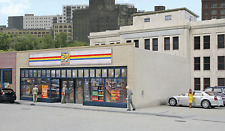 HO Scale 24-Seven Quick Mart Structure Kit - Walthers #933-3477