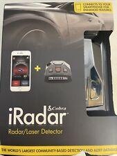 Cobra iRadar Laser Detector Smartphone Enhanced Free Shipping
