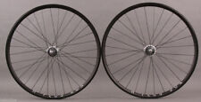 H + Plus Son Archetype Black Dura Ace 7600 Track Bike Hubs Wheelset fixed/fixed