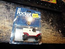TOMY TOMICA POCKET CARS #134-F13 1915 FORD MODEL T DELIVERY, HAPPY HOME BREAD #1