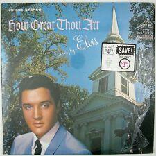 ELVIS PRESLEY How Great Thou Art LP 1967 GOSPEL NM- NM-