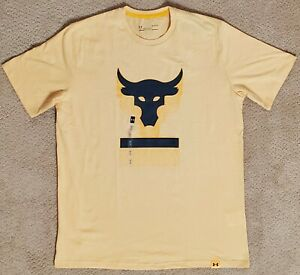 NEW Under Armour Project Rock Above The Bar T-Shirt Men's Sz:LG 1345811-773