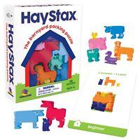 Brainwright Hay Stax Farmyard Packing Puzzle Game Fun Visual Logic Strategy 6+