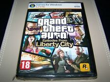 Grand Theft Auto: Episodes From Liberty City PC **New & Sealed** (Damaged)
