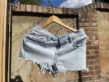 Levi's 501 Blue Demin Shorts. Button Up. W28 Excellent Condition
