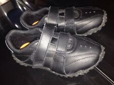 Unisex Lonsdale children's Velcro trainers size 8 in black bnwot