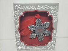 Multicolor Gloria Duchin Pewter Wine Stocking Christmas Ornament