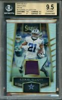 2016 select swatches prizm #3 EZEKIEL ELLIOTT rookie BGS 9.5 (9.5 9.5 9 9.5)