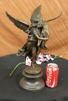 Collectible Art bronze sculpture Signed Gloria Victis By Mercie Lost Wax Figure